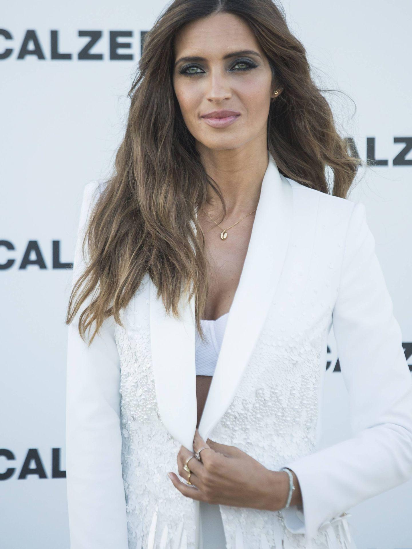 Sara Carbonero en la fiesta de Calzedonia en Ibiza (Cordon Press)