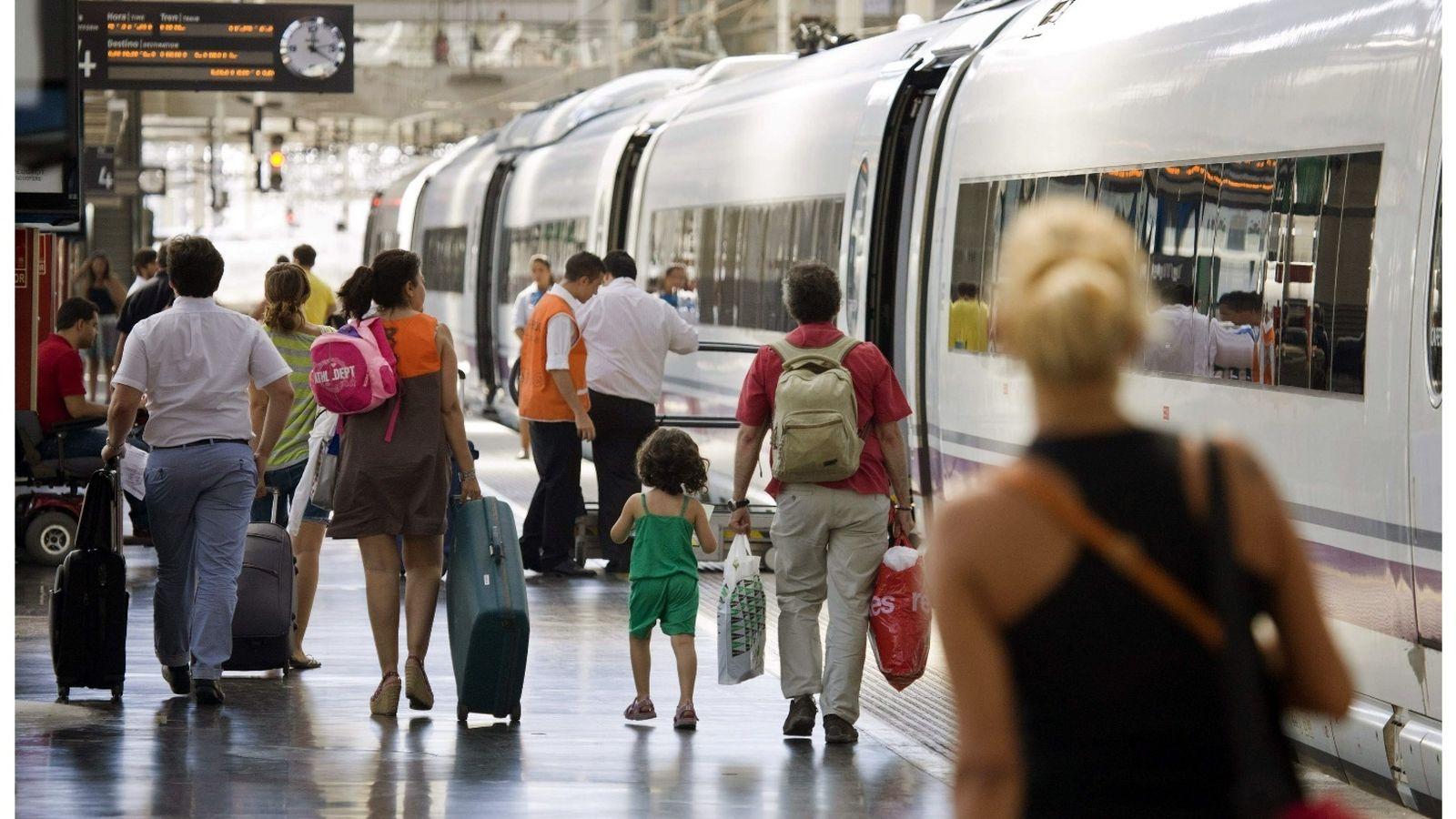 Foto: Estación de Chamartín, en Madrid. (Renfe)