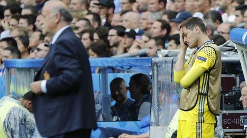 Del Bosque firma la paz con Iker antes de anunciar su marcha de la Selección