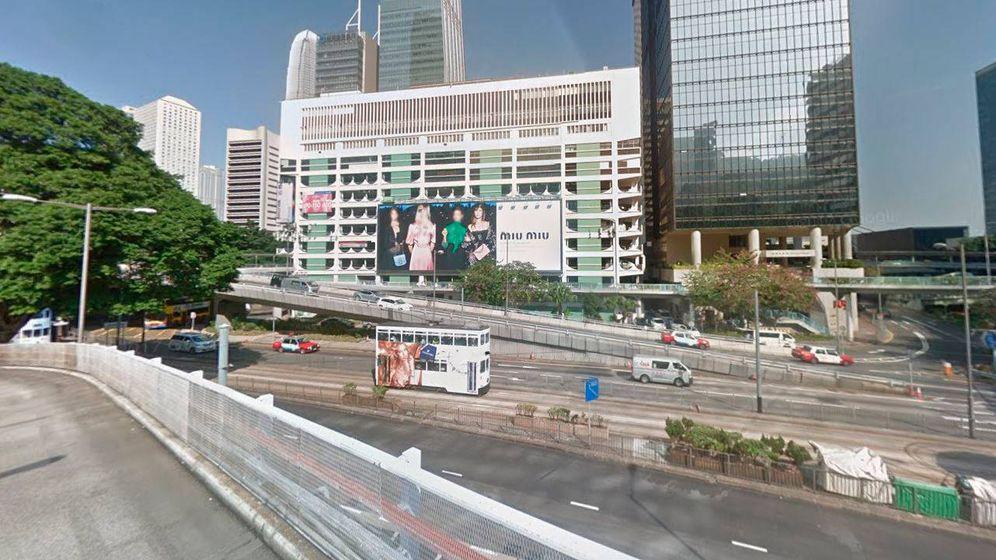 Foto: Murray Road, Hong Kong. (Foto: Google Earth)