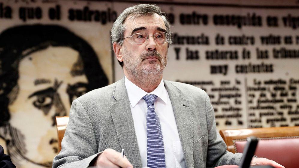 Foto: El presidente del Senado, Manuel Cruz. (EFE)