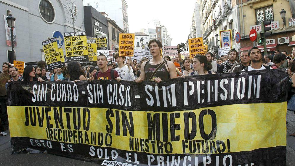 Foto: Manifestación de un grupo de jóvenes en 2011. (EFE)