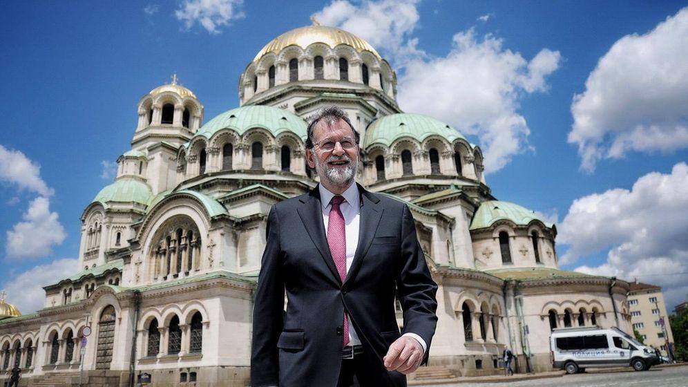 Foto: Rajoy de visita en Bulgaria esta semana. (EFE)