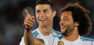 Post de Marcelo dice adiós a Cristiano Ronaldo:
