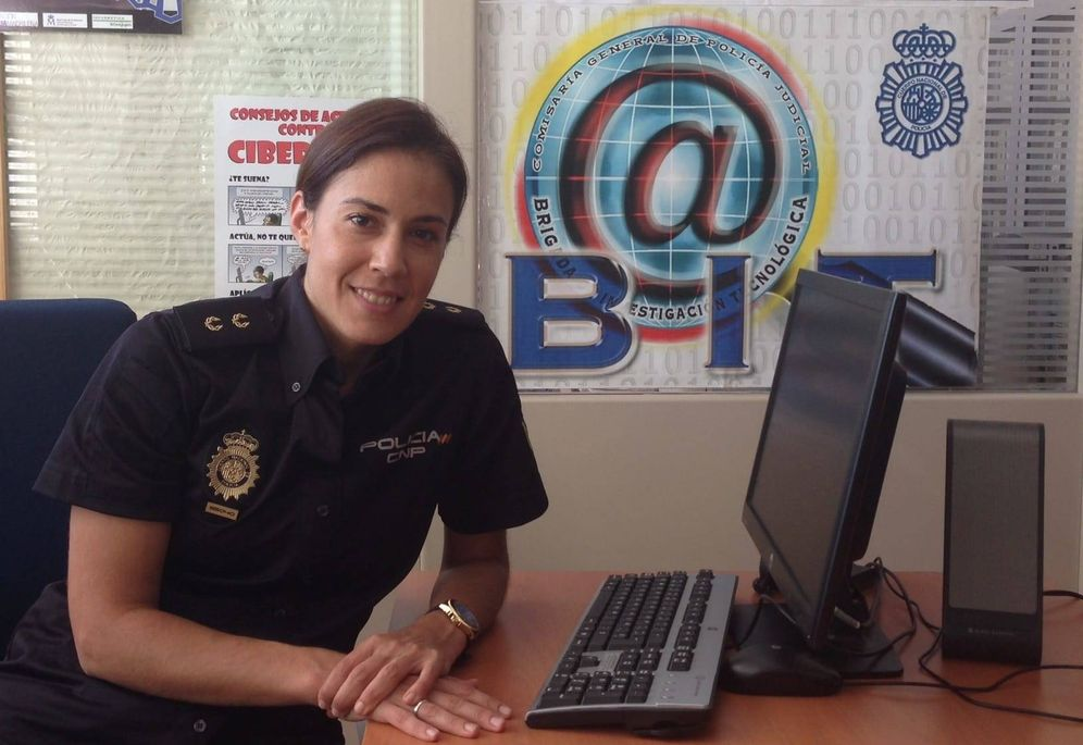 Foto: Silvia Barrera, inspectora de la Policía Nacional.