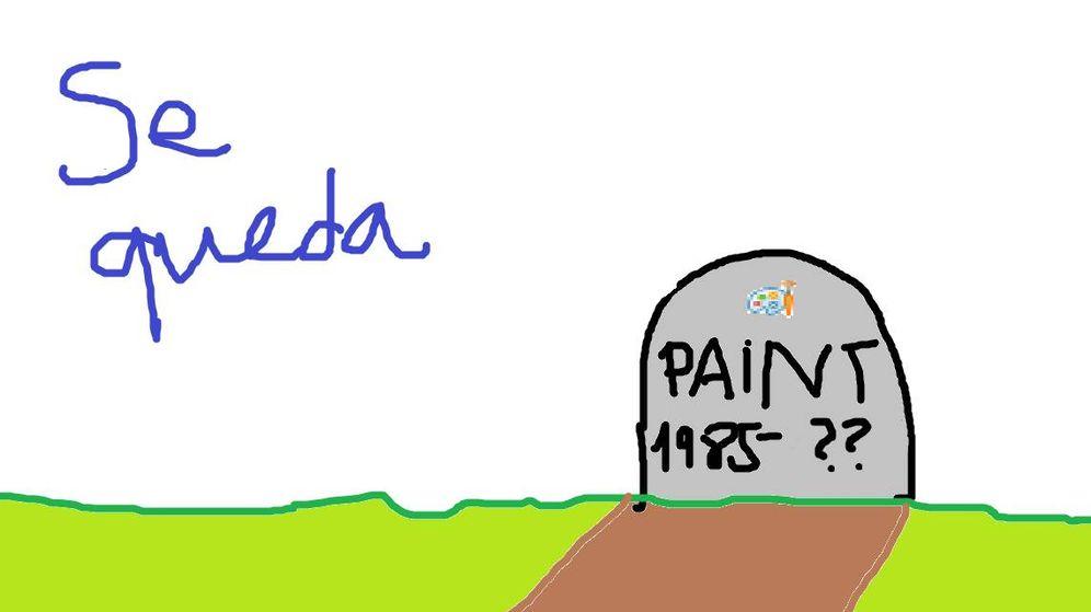Foto: El Paint no se va de Windows 10
