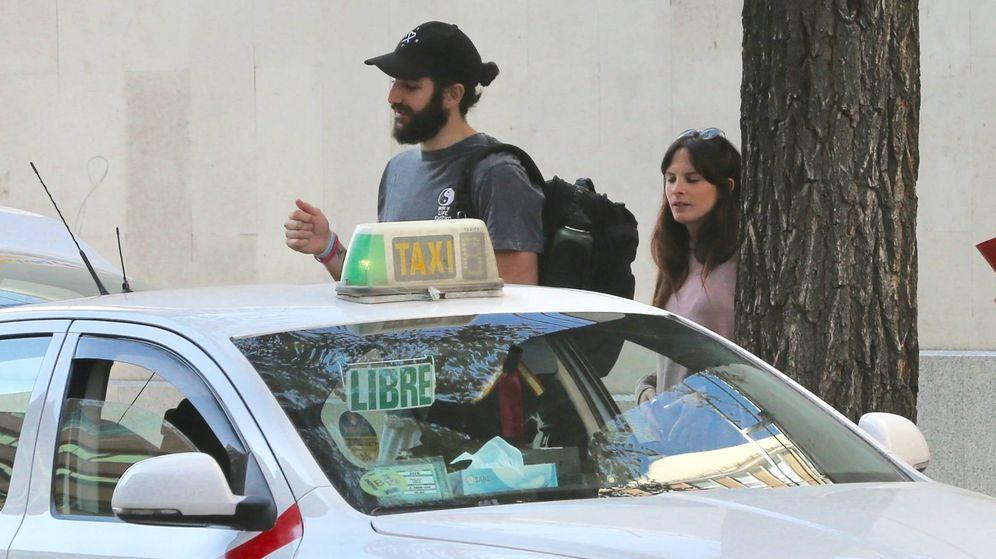 Foto: Ricky Rubio con la joven con la que sale. (Foto: J. Martín)