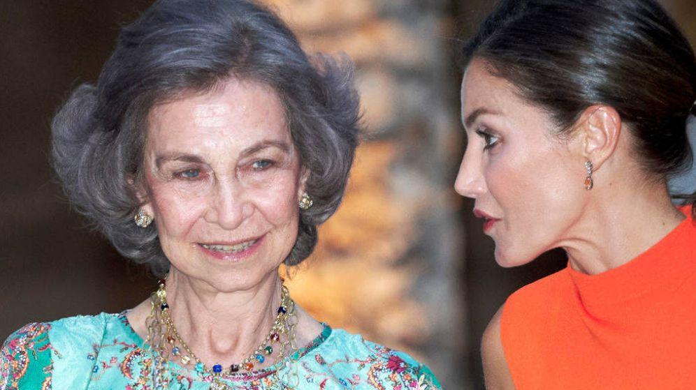 Foto: Las reinas Sofía y Letizia, el verano pasado en Mallorca. (Getty)