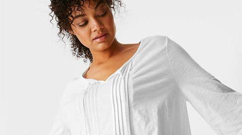 Esta blusa boho, ideal para tallas medias y grandes, de C&A será tu must del verano