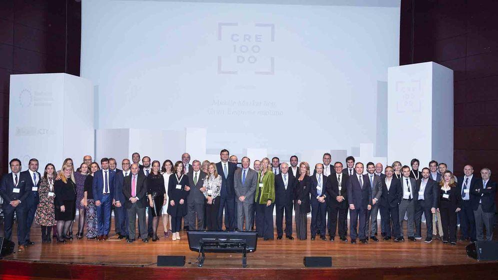 Foto: Foto de familia del evento de CRE100DO.