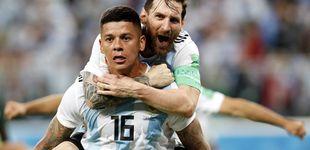 Post de Un gol de Rojo da una clasificación épica a Argentina para octavos