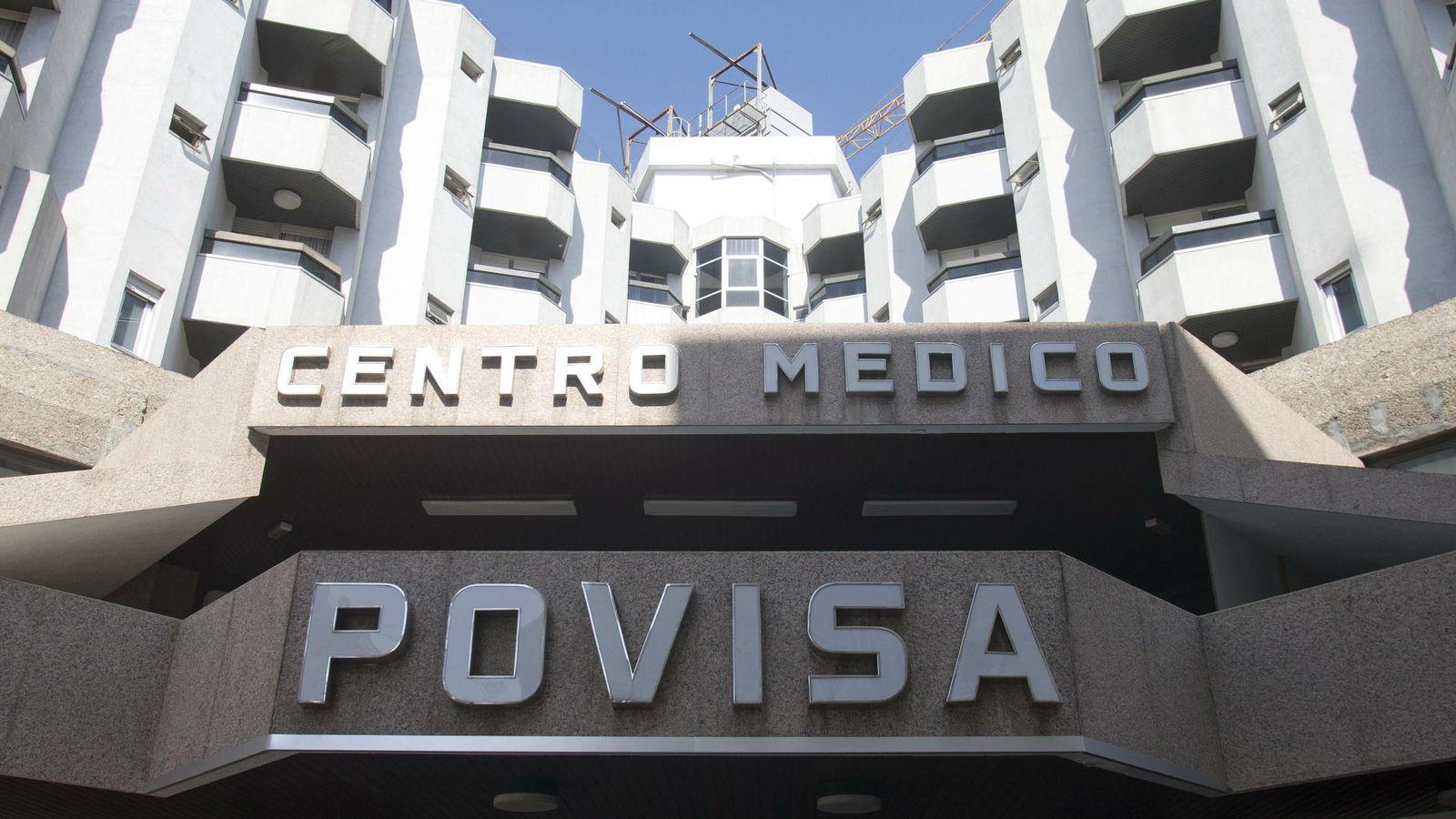 Foto: Fachada del hospital Povisa de Vigo. (EFE)