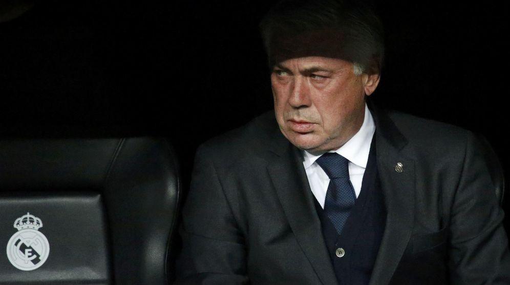 Foto: Carlo Ancelotti, durante un partido del Real Madrid (Reuters)
