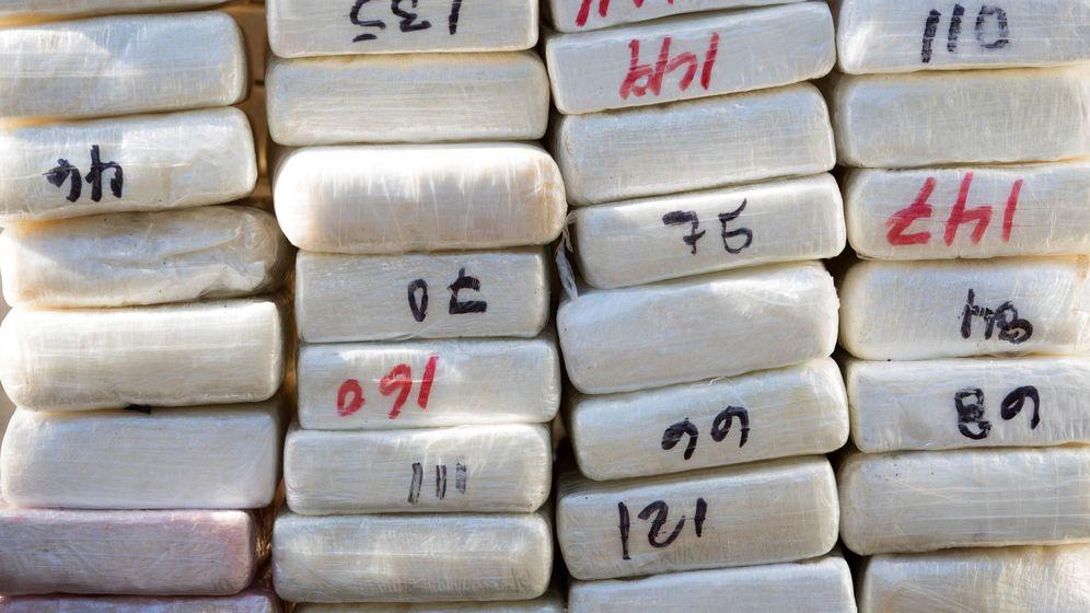 Foto: Foto de archivo de una incautación de droga. (EFE)