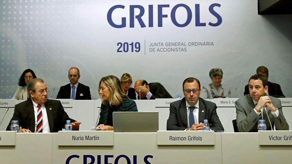 Foto: Junta general de accionistas de grifols (efe)