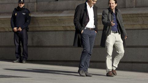 Sánchez e Iglesias compiten por el premio de azote del Gobierno