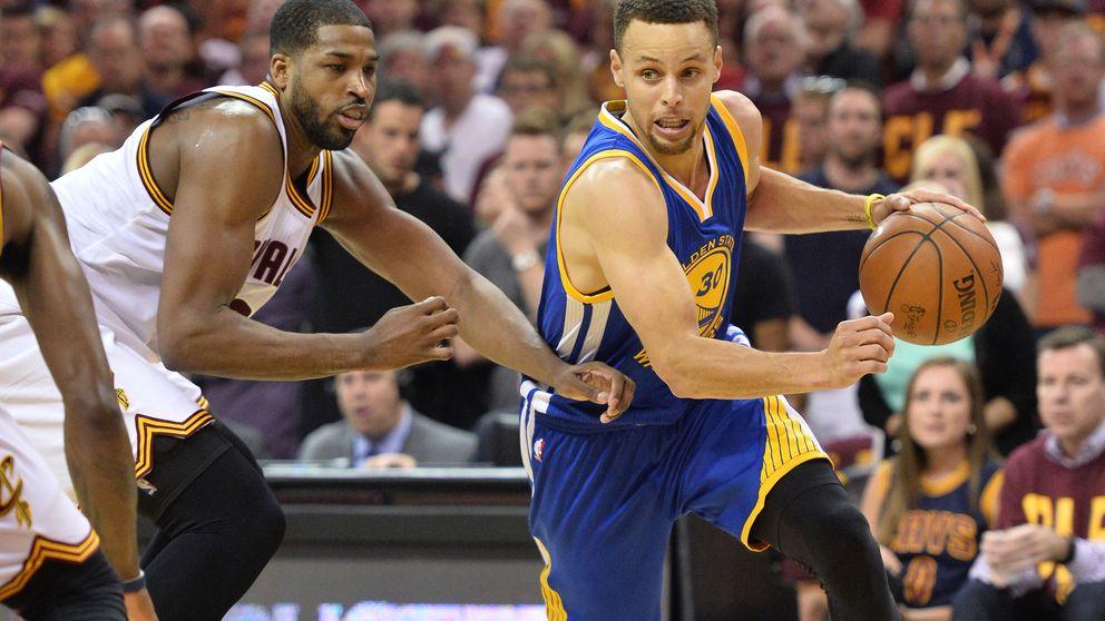 Curry aparece en la final para dejar a los Warriors a un paso del anillo