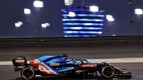 Fernando Alonso y Alpine confirman que aún tienen 'carbonilla' que quitarse de encima