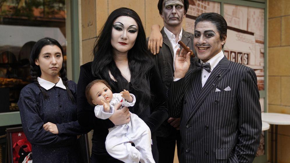 Foto: Fiesta de Halloween en Japón. (EFE)