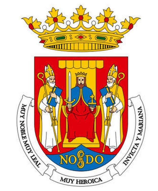 Foto: Polémica con el escudo de Sevilla.