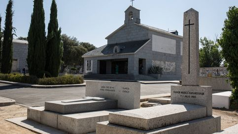 Telarañas y flores muertas en Mingorrubio: así es el cementerio de los jerarcas de Franco