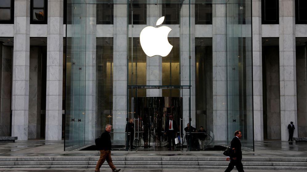 Foto: Fachada de la Apple Store en la Quinta Avenida de Nueva York. (Reuters)