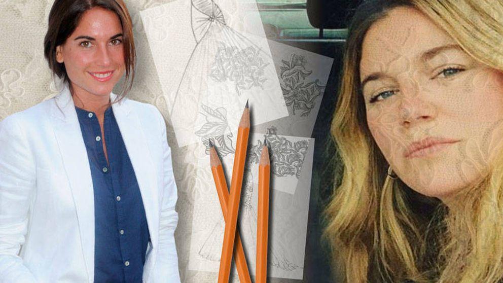 Lourdes, a prueba: la hija de César Cadaval se casa con un diseño suyo