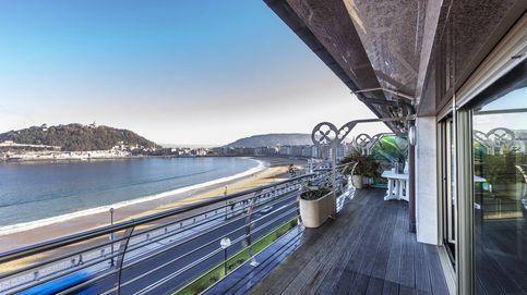 Las viviendas de la calle Hernani en San Sebastián, las más caras de España