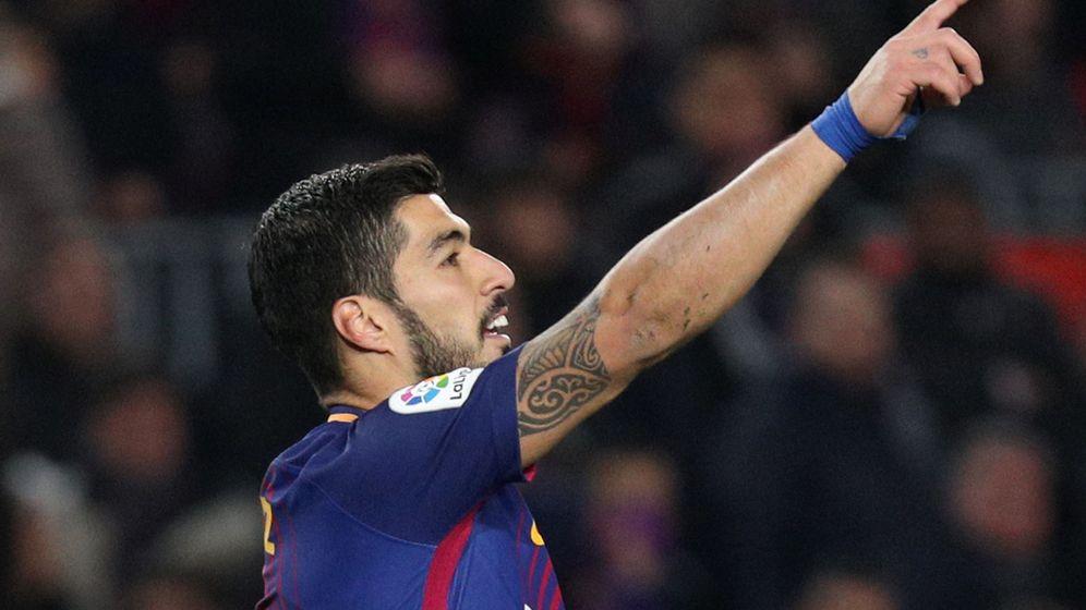 Foto: Suárez viene de hacerle un 'hat-trick' al Girona. (Reuters)