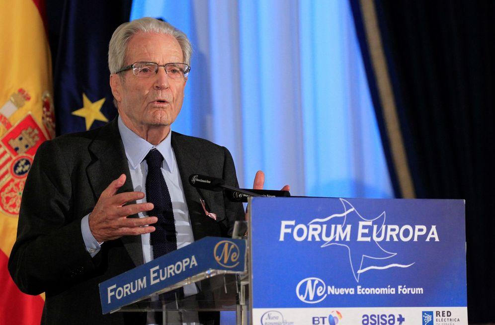 Foto: Antonio Garrigues Walker, en una conferencia. (EFE)