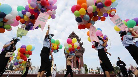 Día de la Independencia de Camboya y paso de campeón de Joan Mir: el día en fotos