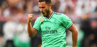 Post de El mejor partido de Eden Hazard o por qué Zidane ha dado en la tecla