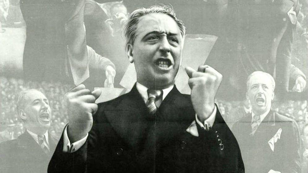 Foto: Lluís Companys, en un cartel de la Guerra Civil.