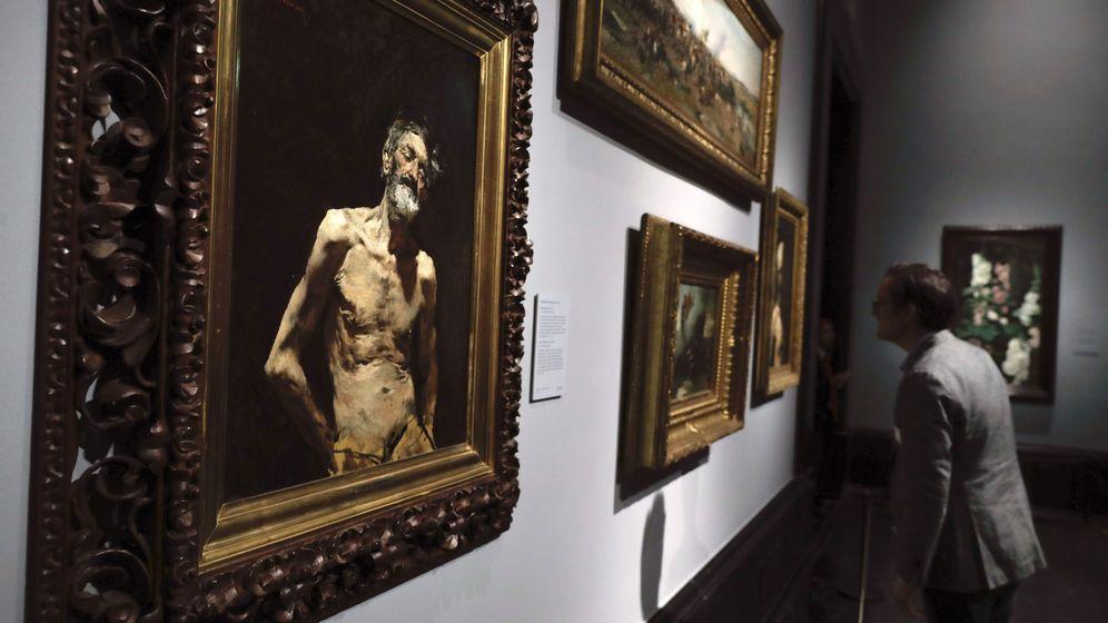 Foto: Exposición 'Mariano Fortuny (1838-1874)' del Museo del Prado. (EFE)