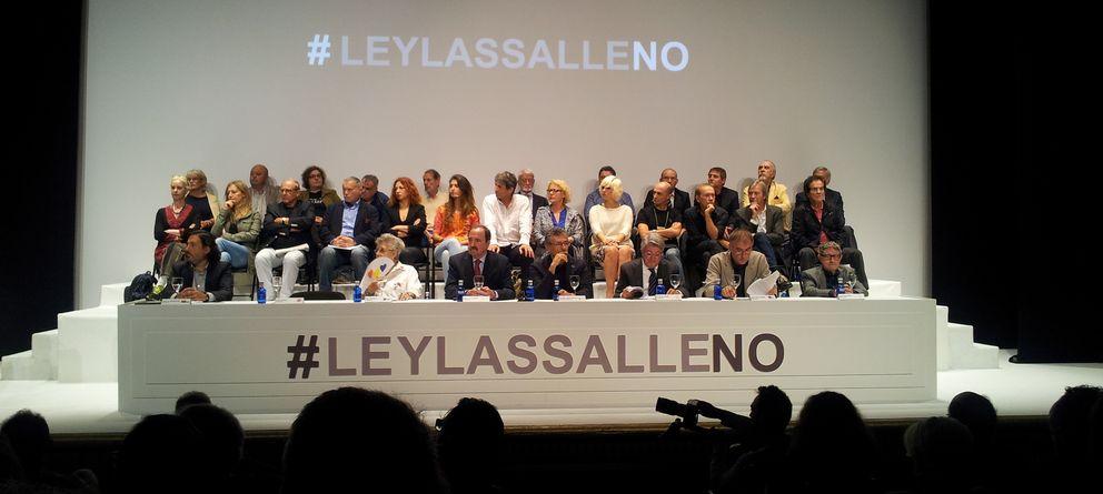 Foto: Reunión del sector de la cultura en el Círculo de Bellas Artes de Madrid (P.H.R.)