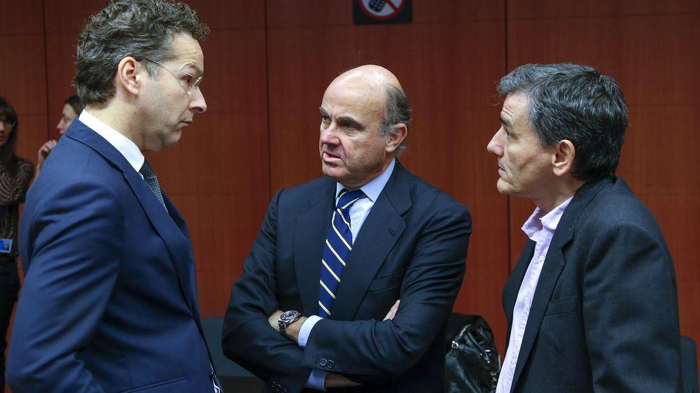 Foto: Jeroen Dijsselbloem y Luis de Guindos. (EFE)