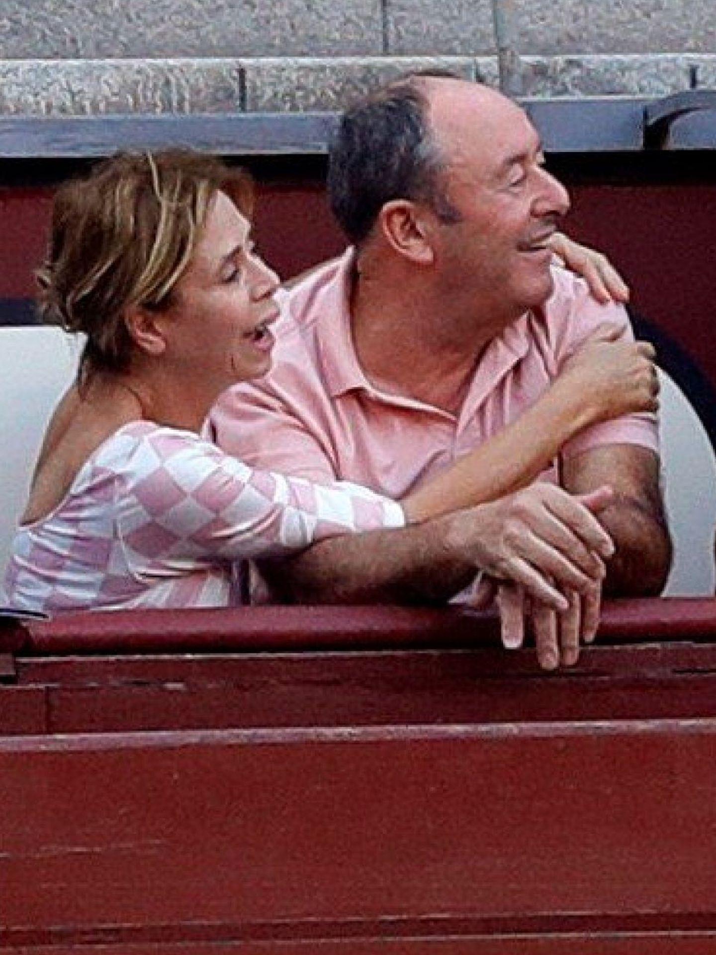 Ágatha Ruiz de la Prada y José Luis Rodríguez. (EFE)