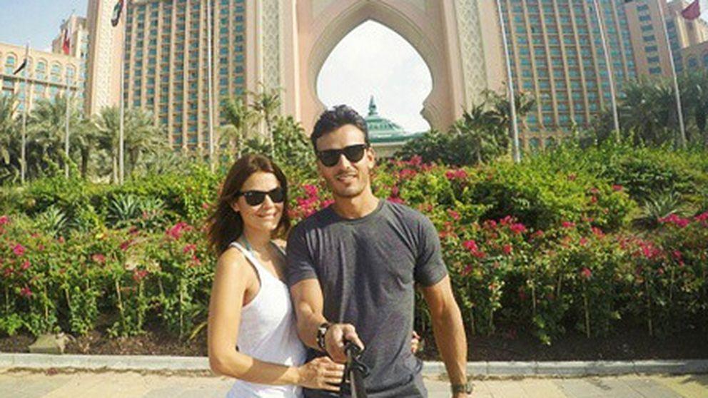 Las mil y una noches de Mª José Suárez y su novio en Dubái