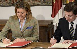 C-LM y Bankia firman un convenio para sufragar becas de FP Dual