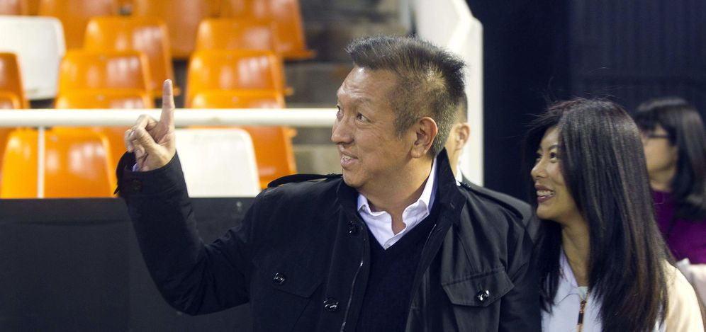 Foto: Peter Lim ha llevado al Valencia al caos más absoluto (EFE)