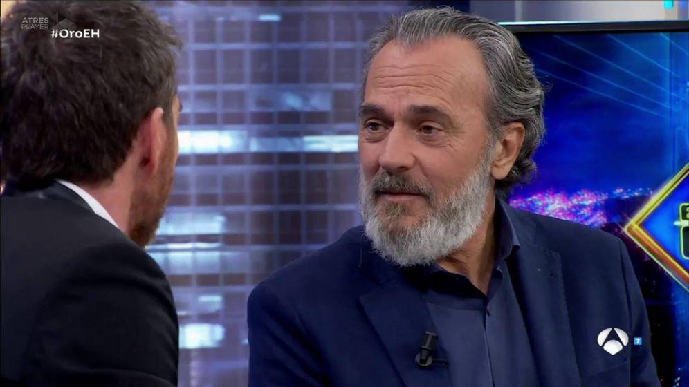 Foto: José Coronado en 'El hormiguero'. (Atresmedia TV)