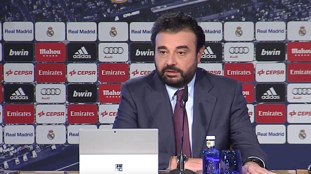 Foto: José Ángel Sánchez, director ejecutivo del Real Madrid.