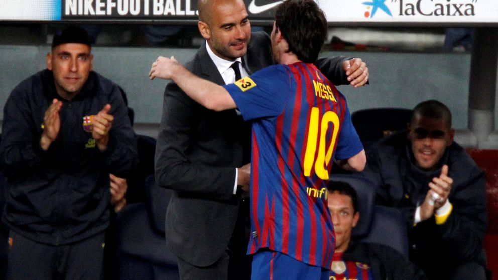 El 'ciudadano' Guardiola se aleja del Barça y se acerca a un desesperado Messi