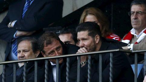 Competición sanciona a Simeone con tres partidos de suspensión