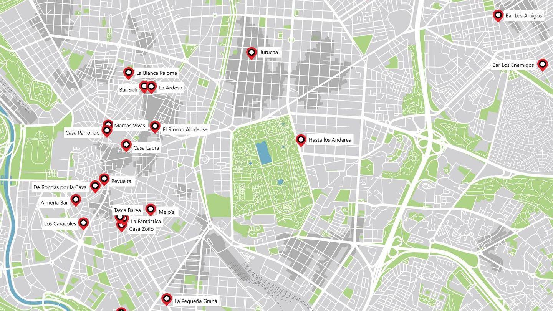 Los mejores bares de tapas de Madrid. (iStock/Álvaro Hermida)