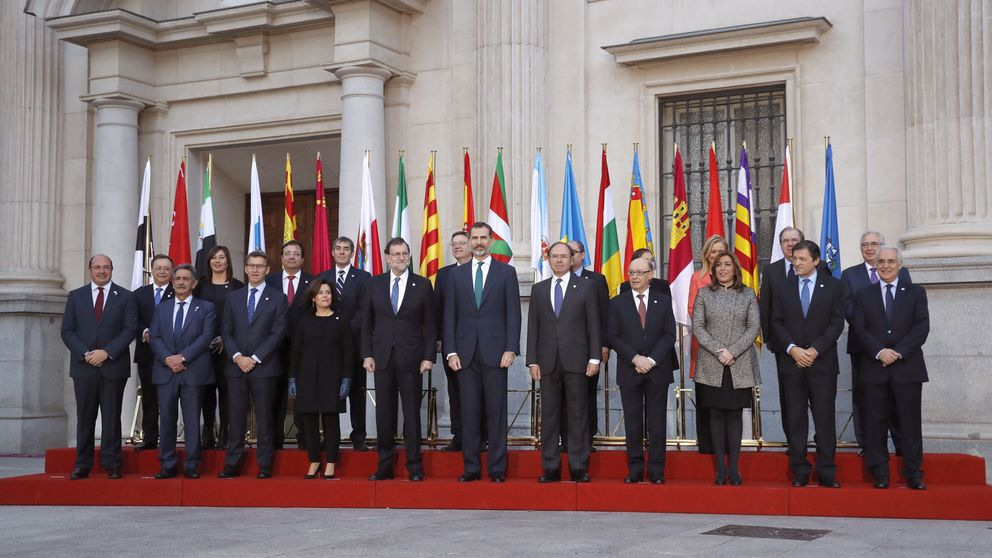 Arranca la VI Conferencia de Presidentes con la ausencia de Puigdemont y Urkullu