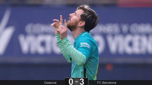 Messi aparece un día más para rescatar al Barcelona cuando más lo necesita