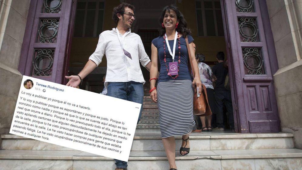 Foto: Kichi y Teresa Rodríguez, los 'Clinton de Cádiz'.