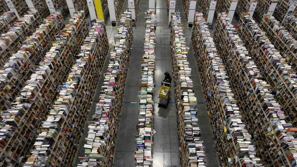 Foto: Centro de distribución de Amazon. (Reuters)