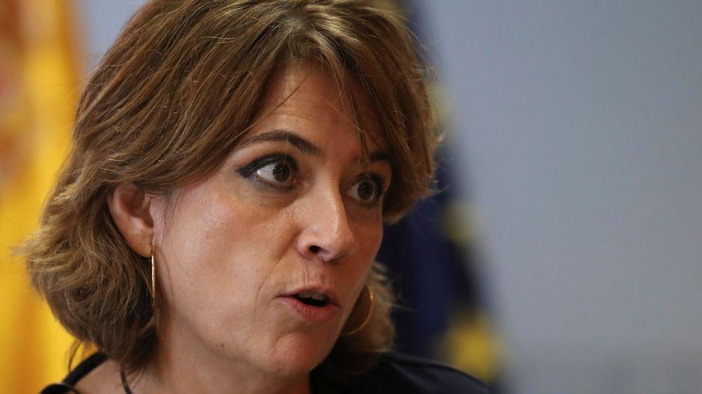 De la pobrecita Dolores Delgado que, dicen, es ministra